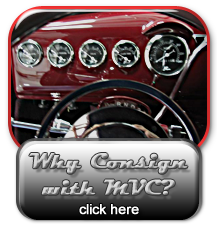 Why Consign with Masterpiece Vintage Cars?