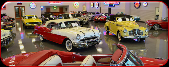 Masterpiece Vintage Cars Showroom