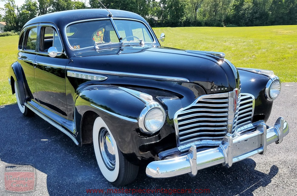 1941 buick century 4 door sedan fastback images